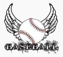 Baseball with Wings by shakeoutfitters