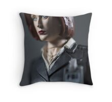 Special Agent Dana Scully Throw Pillow