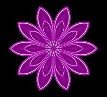 Purple Kaleidoscope 10 by fantasytripp