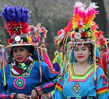 Bolivian girls by annalisa bianchetti