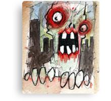 zombie surprise Canvas Print