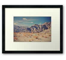 Sometimes All You Can Do Is Breathe Framed Print