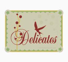 Here Birdie Laundry Label: Delicates by David & Kristine Masterson