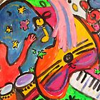 Let the Music Play On! by artqueene