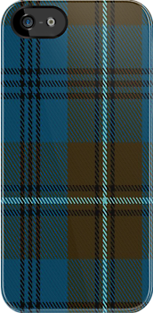 00734 Auld Lang Syne Commemorative Tartan Fabric Print Iphone Case by Detnecs2013