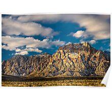 Mount Wilson - Red Rock Sunrise Poster