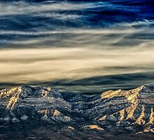 Fly Away With Me - Nevada Sunset by Greg Summers