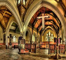 INSIDE ST HILARY CHURCH by PlanetPenwith
