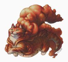 Cloud Cats - Orange by WinterSoul