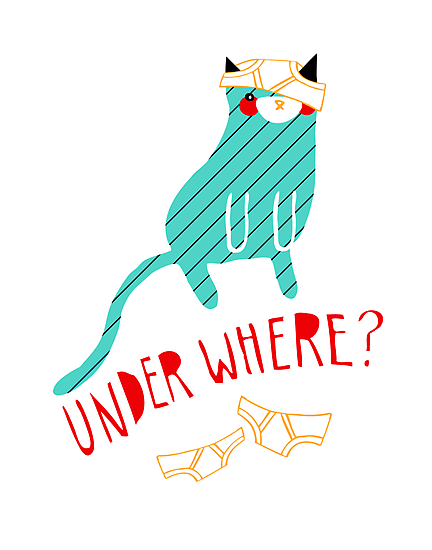 Under Where? by thekitschycat