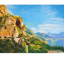 Amalfi Cave Vineyard Photographic Print