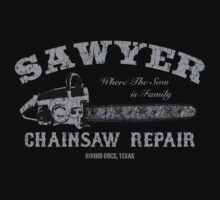 Sawyer Chainsaw Repair by thecreep