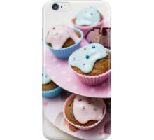 Homemade blue and pink cupcake - iPhone iPhone Case/Skin