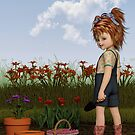 Georgia The Garden Girl by Liam Liberty