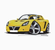 Vauxhall VX220 Yellow by Richard Yeomans