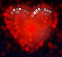 Heart Bokeh by NicoWriter