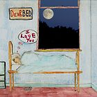 "Dear bed. ""I love you"" by albutross"