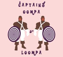 Captains Oompa & Loompa by jonah-vark