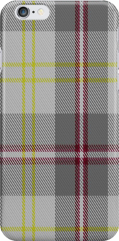 00748 Banff White Fashion Tartan Fabric Print Iphone Case by Detnecs2013