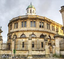 Sheldonian Theatre Oxford by Chris Day