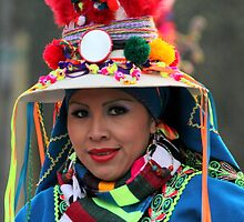 Bolivian girl 3 by annalisa bianchetti