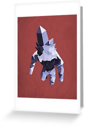 Crystal Golem by Simon Alenius