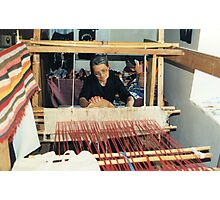 Penelope At Her Loom Photographic Print