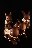 Chocolate Bunnies by Barbara Morrison