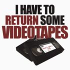 Videotapes! by ABC Tee!