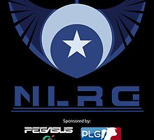 """New Lunar Republic of Gaming """"POSTER"""" by TheCrimzon"""