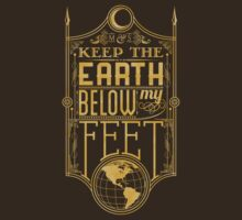 Mumford Typography (earth)(gold) by MiniMoose