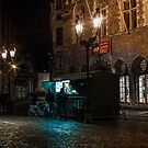 Frites Stall at Night by neal73