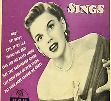 JUDY GARLAND SINGS ~ EARLY 1950'S 45 BOX SET by Vintaged