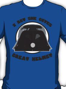 Great Helmet! T-Shirt