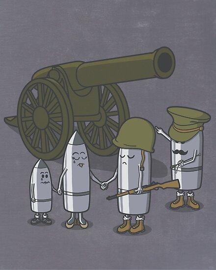 Cannon fodder. by J.C. Maziu