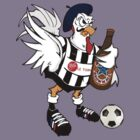Toon French Cockerel by carterscasuals