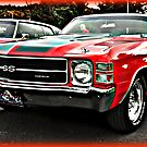 1972 Chevy Chevelle by BLAKSTEEL