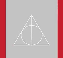 The Deathly Hallows (In Grey) by PiranhaCakes