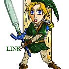Link Hero of Time by DarkKitty69