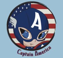 Captain America Chibi Kids Clothes