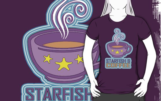 STARFISH & COFFEE by SOL  SKETCHES™