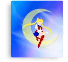 Agent of Love and Justice, Sailor Moon Canvas Print