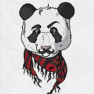 Hipster Panda by Dina Rodriguez