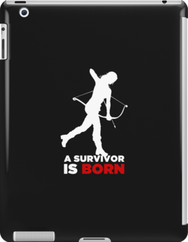 A Survivor is Born [white] by saniday