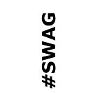 #SWAG iPhone Case - White by jereeebear