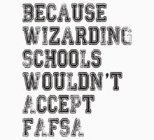 Wizarding Schools Really Need Better Financial Aid, Don't They? by LivinAloha