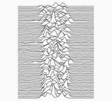 Joy Division : Unknown Pleasures - Black by 80sCover