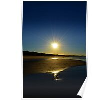 Sunray burst Poster