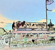 Harry's Cafe Woolloomooloo Photopainting by Chris Hood