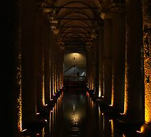 Basilica Cistern, Istanbul by Lightflowphoto
